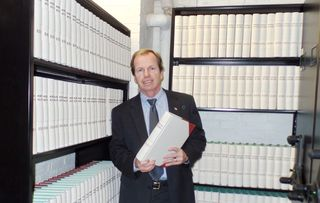 Register O'Donnell Announces 35,000th Book Printed at Registry
