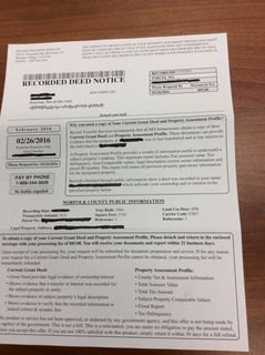 Register O'Donnell Warns Homeowners About Deed Scam