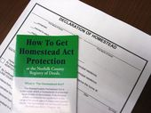 Register O'Donnell Promotes Homestead Act