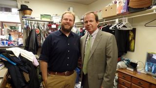 Register O'Donnell Delivers Donated Clothing to Interfaith Social Services