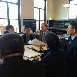 Register O'Donnell Hosts Chinese Delegation