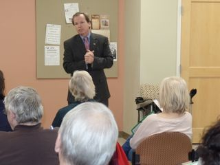 Register O'Donnell Guest Speaker at Franklin Senior Center