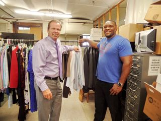 Register O'Donnell Delivers Donated Clothing to InnerCity Weightlifting