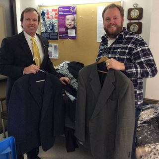 Register O'Donnell Donates Clothing Thanks to Countywide Donations