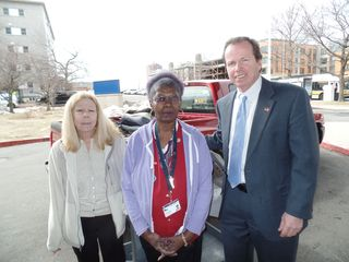 Register O'Donnell Delivers Donated Clothing to Boston VA Healthcare Systems Voluntary Services Program