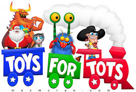 REMINDER - Register O'Donnell wants to remind everyone of the Toys for Toys deadline date of Noon, Wednesday, December 11th