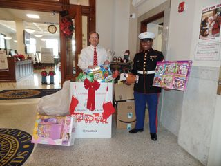 Register O'Donnell Thanks All Who Donated to Toys for Tots Drive