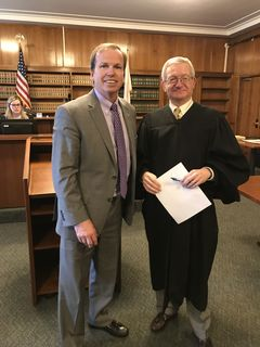 Register O'Donnell Sworn In As Assistant Recorder of Land Court