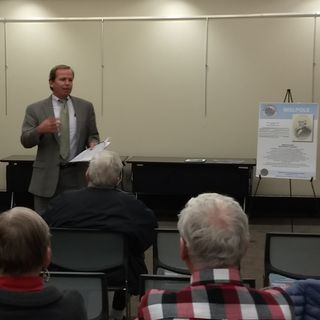 Register O'Donnell Speaks to Walpole Historical Society