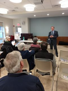 Register O'Donnell Guest Speaker at Wellesley Council on Aging