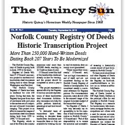 Norfolk County Registry of Deeds Historic Transcription Project
